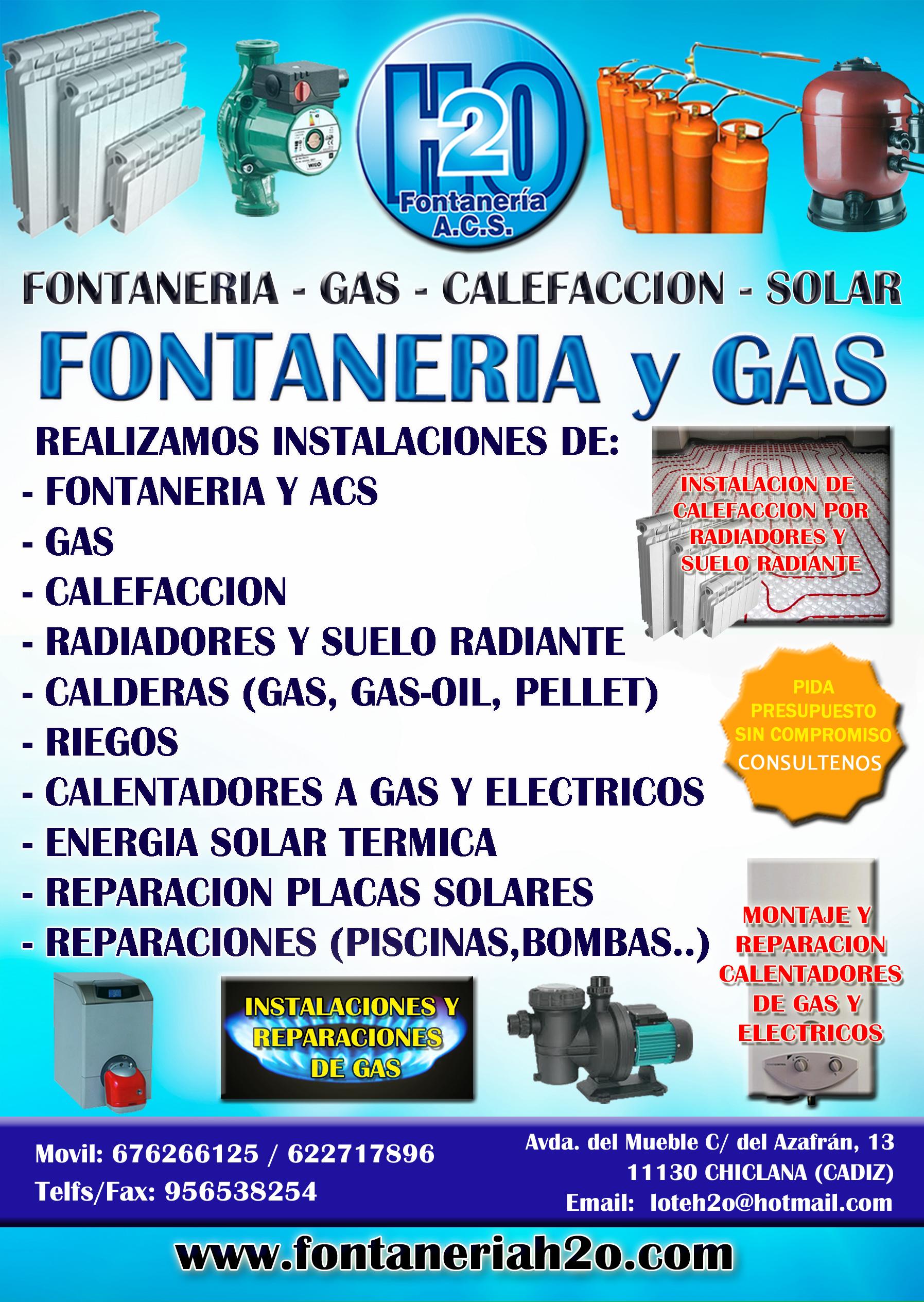Calefaccion fontaneria h2o for Precio instalacion suelo radiante